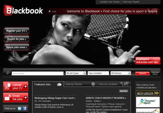 Blackbook Sports Jobs Board